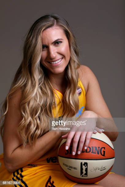 Jeanette PohlenMavunga of the Indiana Fever poses for a portrait during Media Day at Bankers Life Fieldhouse on May 9 2017 in Indianapolis Indiana...