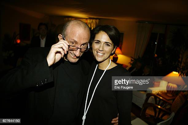 JeanFrancois Derec and Valerie Benaim attend the launch of Tristan Banon's new book Trapeziste