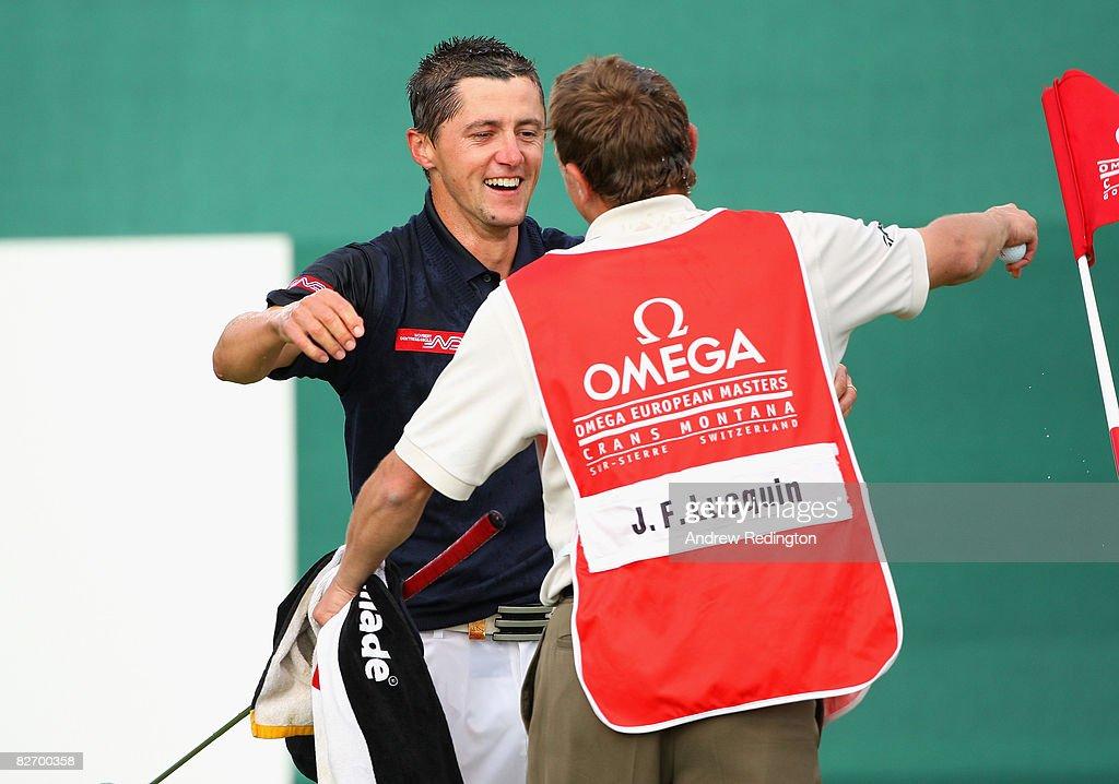 Omega European Masters - Round Four : News Photo