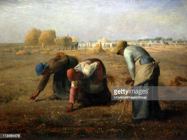 JeanFrancois Millet was a French painter and one of the founders of the Barbizon school The Gleaners 1857 Musee d'Orsay Paris