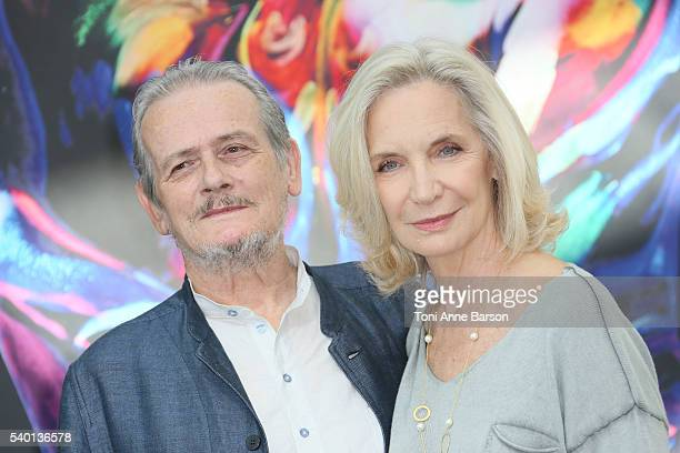 JeanFranois Garreaud and MarieChristine Adam attend Nina Photocall as part of the 56th Monte Carlo Tv Festival at the Grimaldi Forum on June 13 2016...