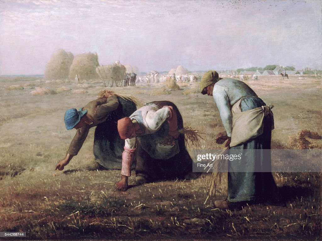 Des Glaneuses (The Gleaners) by Jean-François Millet : News Photo