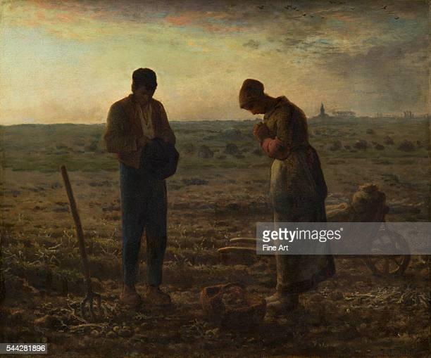 JeanFrançois Millet The Angelus 185759 oil on canvas 55 x 66 cm Musee d'Orsay Paris
