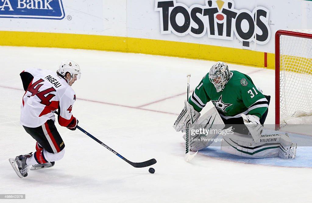 Ottawa Senators v Dallas Stars : News Photo