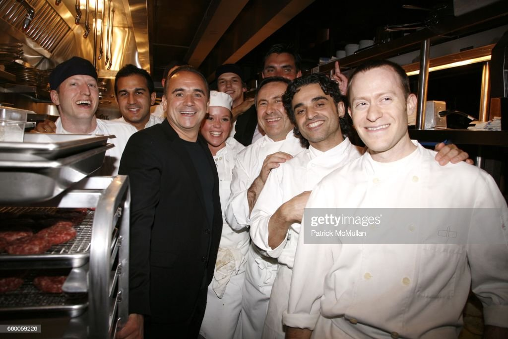 Jean Georges Vongerichten, Daniel Boulud, Jim Leiken And Kitchen Staff  Attend DANIEL BOULUD