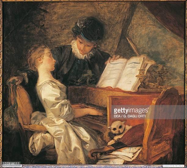 JeanHonoré Fragonard The Music Lesson