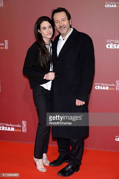 JeanHugues Anglade arrives at The Cesar Film Awards 2016 at Theatre du Chatelet on February 26 2016 in Paris France