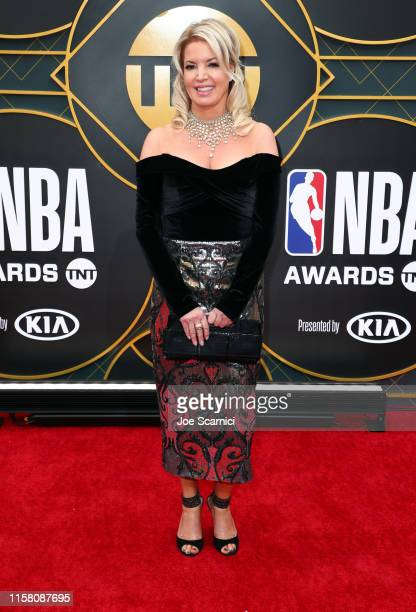 Jeanie Buss attends the 2019 NBA Awards presented by Kia on TNT at Barker Hangar on June 24 2019 in Santa Monica California