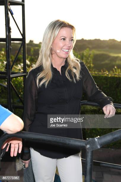 Jeanie Buss attends the 8th Annual espnW Women Sports Summit at Resort at Pelican Hill on October 3 2017 in Newport Beach California