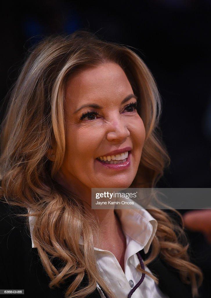 Jeanie Buss Photos Photos - Sacramento Kings v Los Angeles