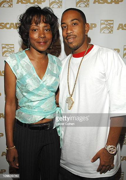 Jeanie Weems and Ludacris during ASCAP's Rhythm Soul Awards Songwriter of the Year Alumni Event Hosted by Ludacris and Chaka Zulu at Linwood Dunn...