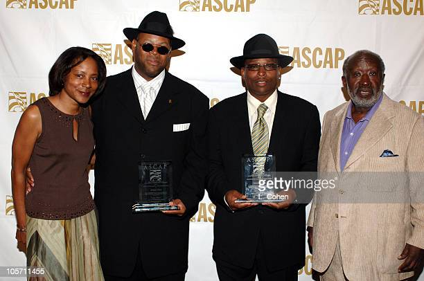 Jeanie Weems Jimmy Jam Terry Lewis and Clarence Avant