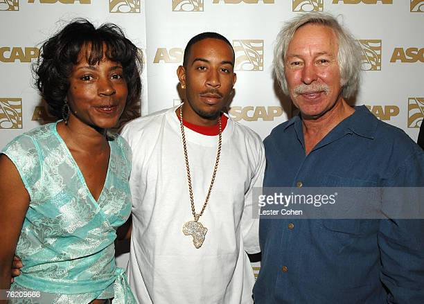 Jeanie Weems Ludacris and Todd Brabec of ASCAP