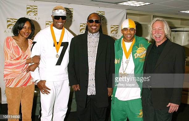 Jeanie Weems VP ASCAP Seven Stevie Wonder Nelly Todd Brabec Exec VP ASCAP