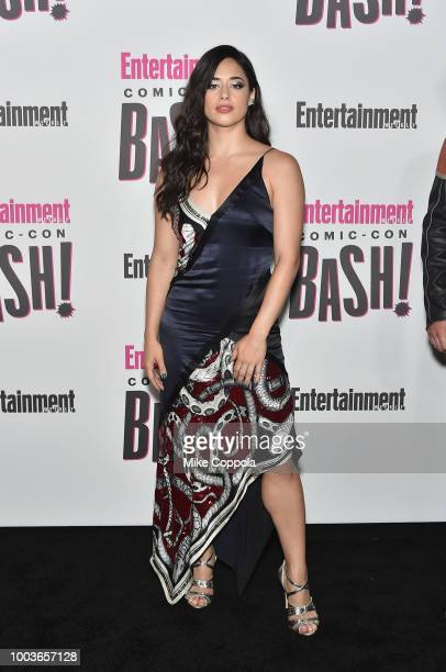 Jeanine Mason attends Entertainment Weekly's ComicCon Bash held at FLOAT Hard Rock Hotel San Diego on July 21 2018 in San Diego California sponsored...