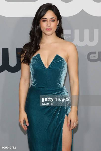 Jeanine Mason attends the 2018 CW Network Upfront at The London Hotel on May 17 2018 in New York City