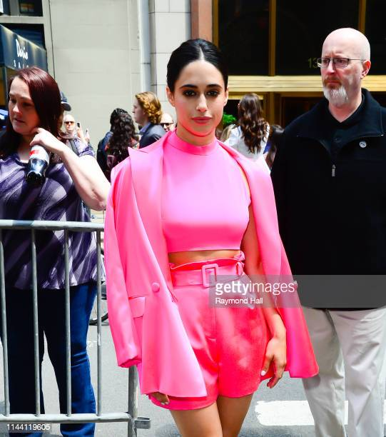 Jeanine Mason attends the 2019 CW Network Upfront on May 16 2019 in New York City