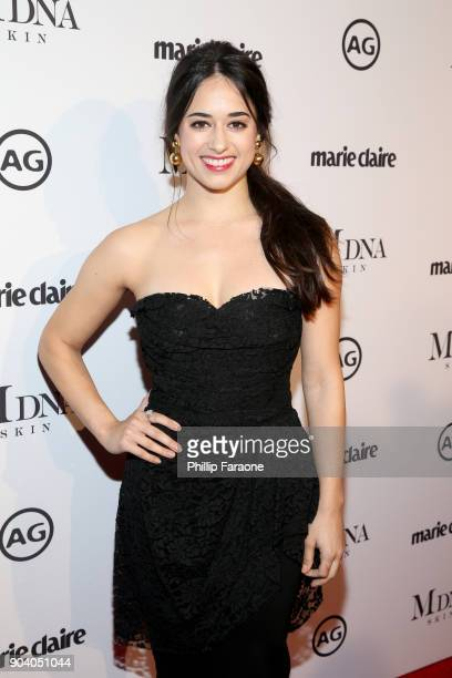 Jeanine Mason attends the Marie Claire's Image Makers Awards 2018 on January 11 2018 in West Hollywood California