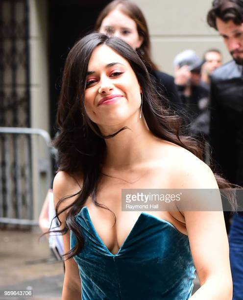 Jeanine Mason is seen walking in midtown on May 17 2018 in New York City
