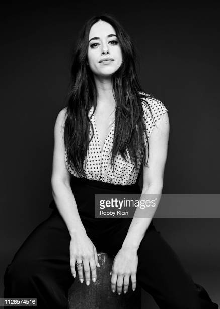 Jeanine Mason of The CW's 'Roswell New Mexico' poses for a portrait during the 2019 Winter TCA at The Langham Huntington Pasadena on January 31 2019...