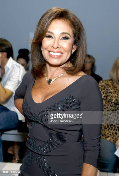 Jeanine Pirro attends the Chiara Boni La Petite Robe front Row during New York Fashion Week The Shows at Gallery II at Spring Studios on September 11...