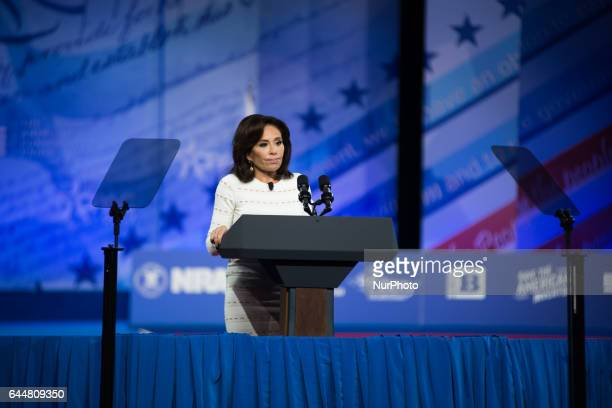 Jeanine Pirro during the Conservative Political Action Conference at the Gaylord National Resort and Convention Center February 23 2017 in National...