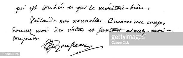 JeanJacque Rousseau's letter end of letter with signature 16 January 1753 JJR Swiss born French philosopher of Enlightenment 28 June 1712 – 2 July...