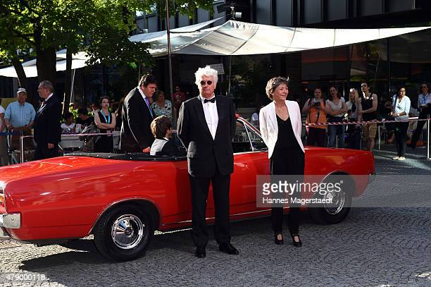 JeanJacques Annaud and his wife Laurence Annaud attend the Cine Merit Award during the Munich Film Festival at Gasteig on June 29 2015 in Munich...