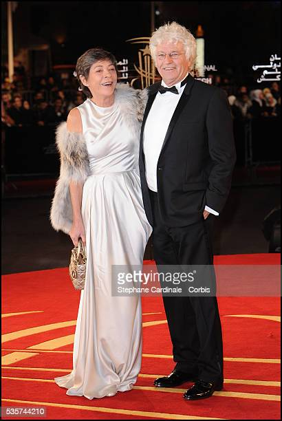 JeanJacques Annaud and wife Laurence attend the Opening Ceremony of the 11th Marrakech International Film Festival
