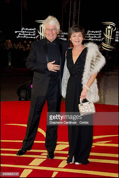 JeanJacques Annaud and wife Laurence attend the premiere of Black Gold during the 11th Marrakech International Film Festival