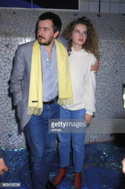 JeanJacques Beinex et Isabelle Pasco le 5 janvier 1988 à Paris France