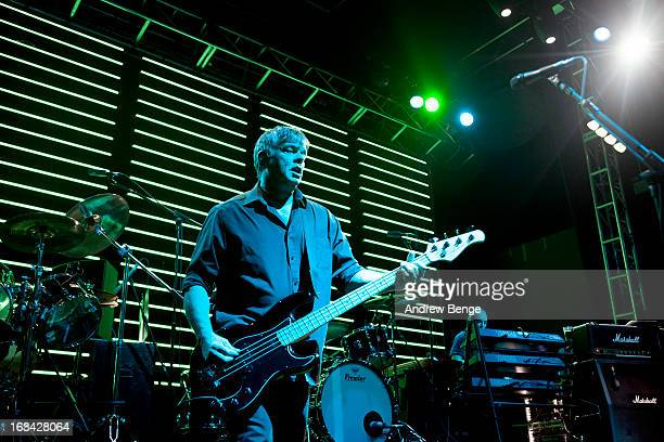 JeanJacques Burnel and Dave Greenfield of The Stranglers perform on stage in concert at 02 academy on March 9 2013 in Leeds England