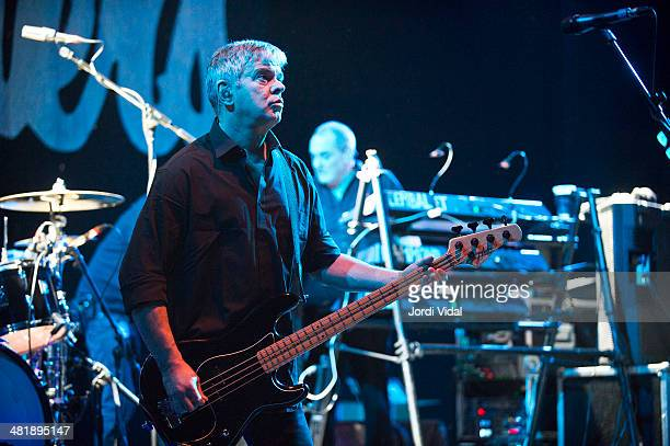 JeanJacques Burnel of The Stranglers performs on stage at Barts on April 1 2014 in Barcelona Spain