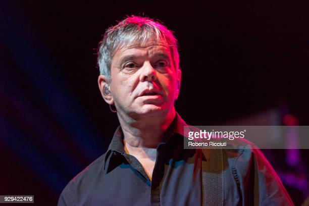 JeanJacques Burnel of The Stranglers performs on stage at O2 Academy Glasgow on March 8 2018 in Glasgow Scotland