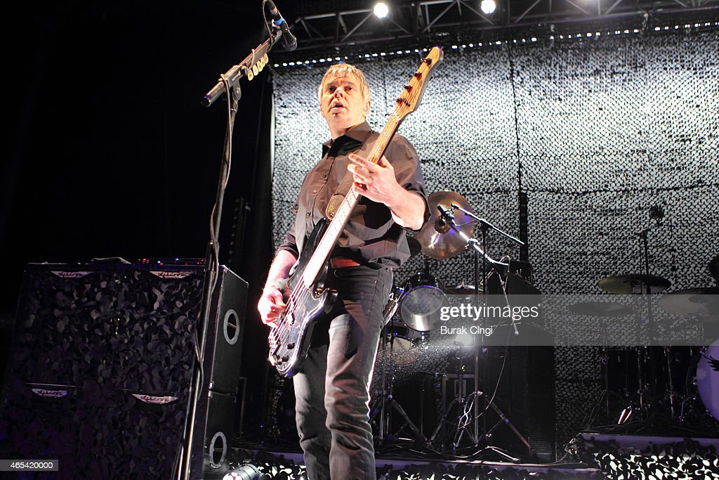 Jean-Jacques Burnel of The Stranglers performs on stage at The Roundhouse on March 6, 2015 in London, United Kingdom.