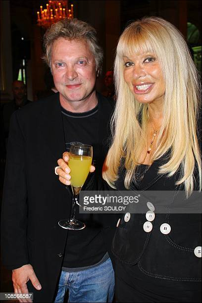 Jean-Jacques Lafont and Lova Moor in Paris, France on May 10, 2007.