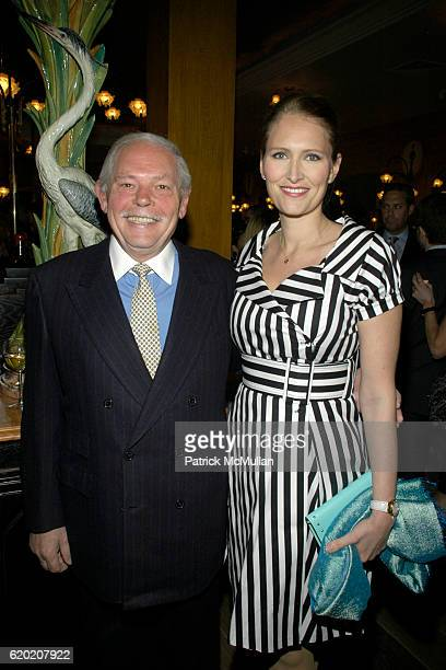 JeanJacques Rachou and Gwenaelle Gueguen attend Benoit Opening Party Hosted by Pamela Fiori and Alain Ducasse at Benoit Restaurant on April 30 2008...