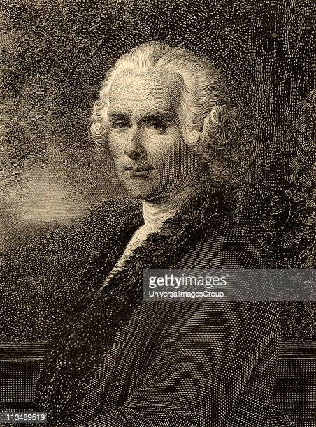 JeanJacques Rousseau 17121778 Swiss philosopher Photoetching from an old print From the book ' Lady Jackson's Works III The Old Regime I Court Salons...