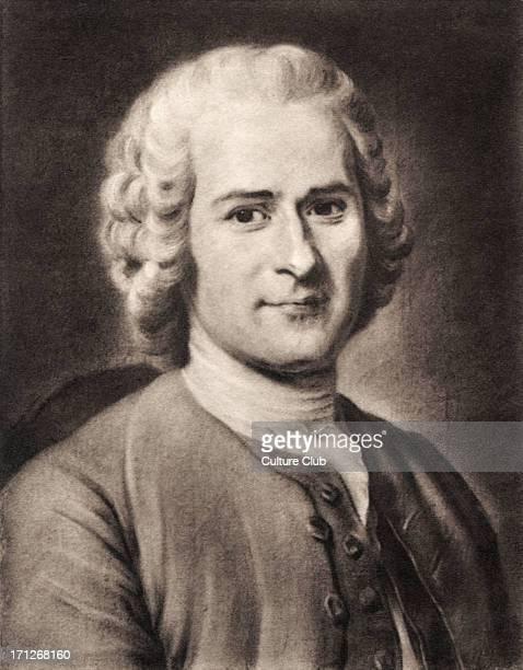 JeanJacques Rousseau portrait in pastel by MauriceQuentin de la Tour SwissFrench philosopher writer and composer 28 June 1712 2 July 1778 La Tour...