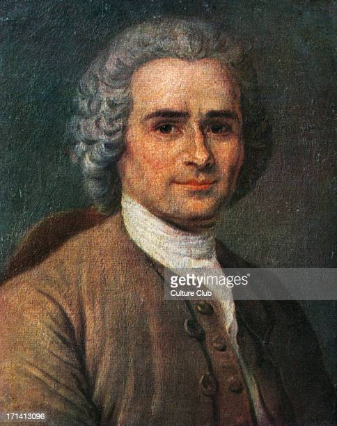 JeanJacques Rousseau portrait Painting by La Tour SwissFrench philosopher writer and composer 28 June 1712 2 July 1778