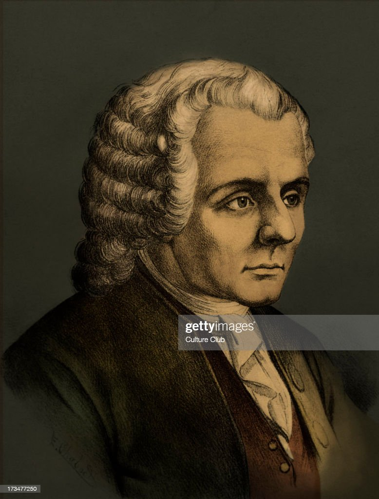 Jean-Jacques Rousseau - : News Photo
