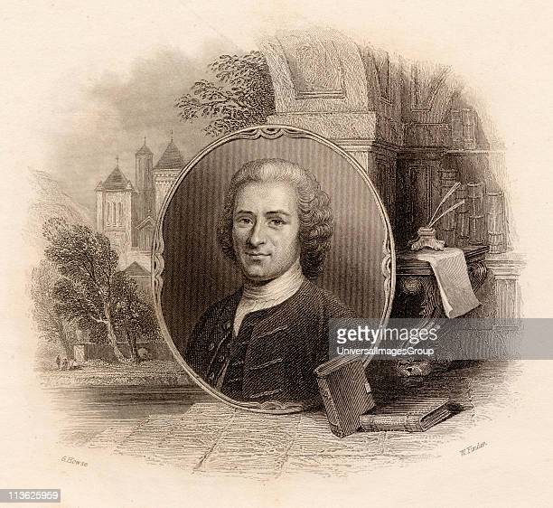 JeanJacques Rousseau17121778 Swiss philosopher Drawn by G Howse engraved by W Finden