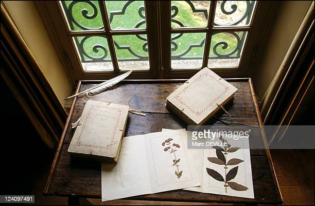 JeanJacques Rousseau's fabulous 'Delessert' herbarium or the introduction to botany In Montmorency France On November 14 2001 Inside the JeanJacques...
