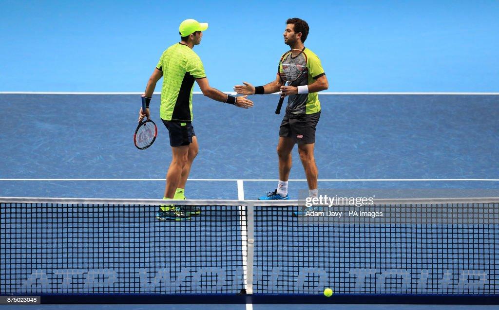 NITTO ATP World Tour Finals - Day Five - O2 Arena : News Photo