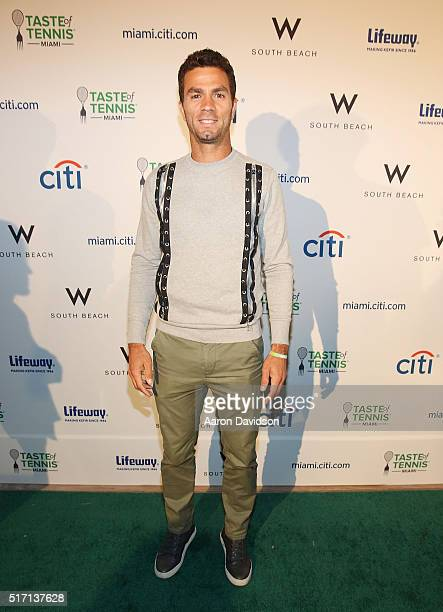 JeanJulien Rojer attends Taste Of Tennis At W South Beach #TASTEOFTENNIS at W Hotel on March 21 2016 in Miami Florida