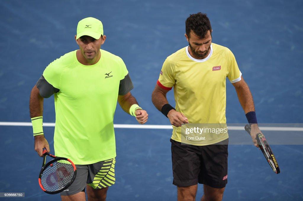 ATP Dubai Duty Free Tennis  Championship - Day Six : News Photo