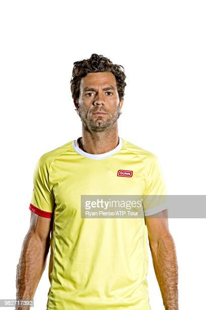 JeanJulien Rojer of the Netherlands poses for portraits during the Australian Open at Melbourne Park on January 14 2018 in Melbourne Australia