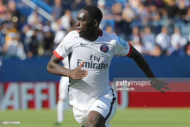 JeanKevin Augustin of PSG in action during the 2015 Trophee des Champions between Paris SaintGermain and Olympique Lyonnais at Stade Saputo on August...