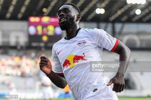 JeanKevin Augustin of Red Bull Leipzig during the Preseason Friendly match between Red Bull Leipzig v Galatasaray SK at Stadion Tivoli on July 19...