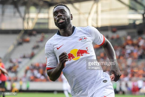 JeanKevin Augustin of Red Bull Leipzig scores during the Preseason Friendly match between Red Bull Leipzig v Galatasaray SK at Stadion Tivoli on July...